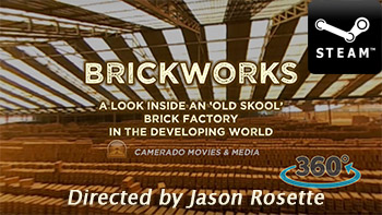 'BrickWorks' is a 360 VR immersive movie by filmmaker-educator Jason Rosette