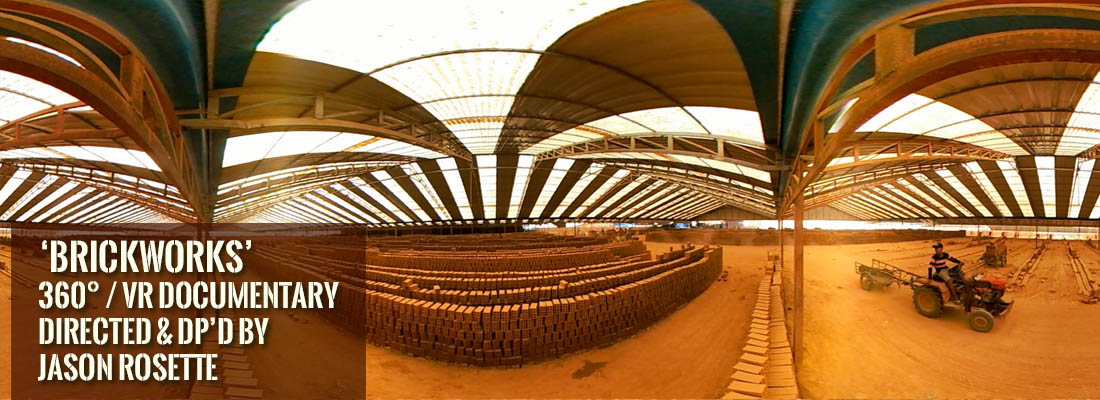 'BrickWorks' is a 360 /VR documentary by Jason Rosette