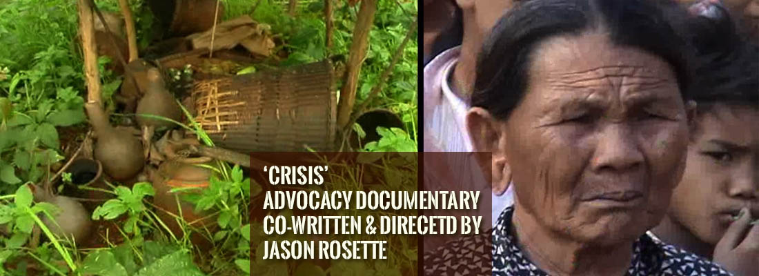'Crisis' is an advocacy documentary directed and co-written by Jason Rosette