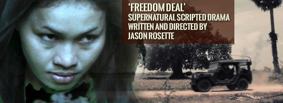 Jason Rosette is writer, director and co-producer of the supernatural Vietnam war themed drama, 'Freedom Deal: Story of Lucky'