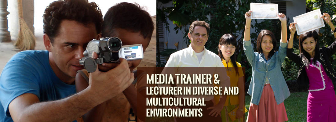 Jason Rosette is a media trainer and lecturer in diverse multicultural environments