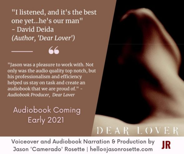 'Dear Lover' by David Deida; audiobook narrated by Jason Rosette
